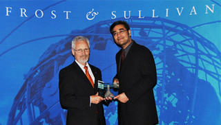 "Sensitec receives the Frost & Sullivan ""Global Product Innovation Award""."